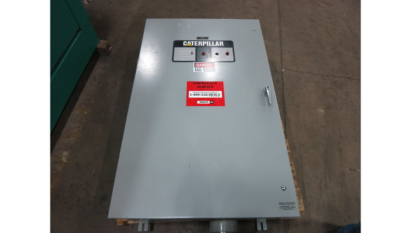 Used Caterpillar 400 Amp Automatic Transfer Switch
