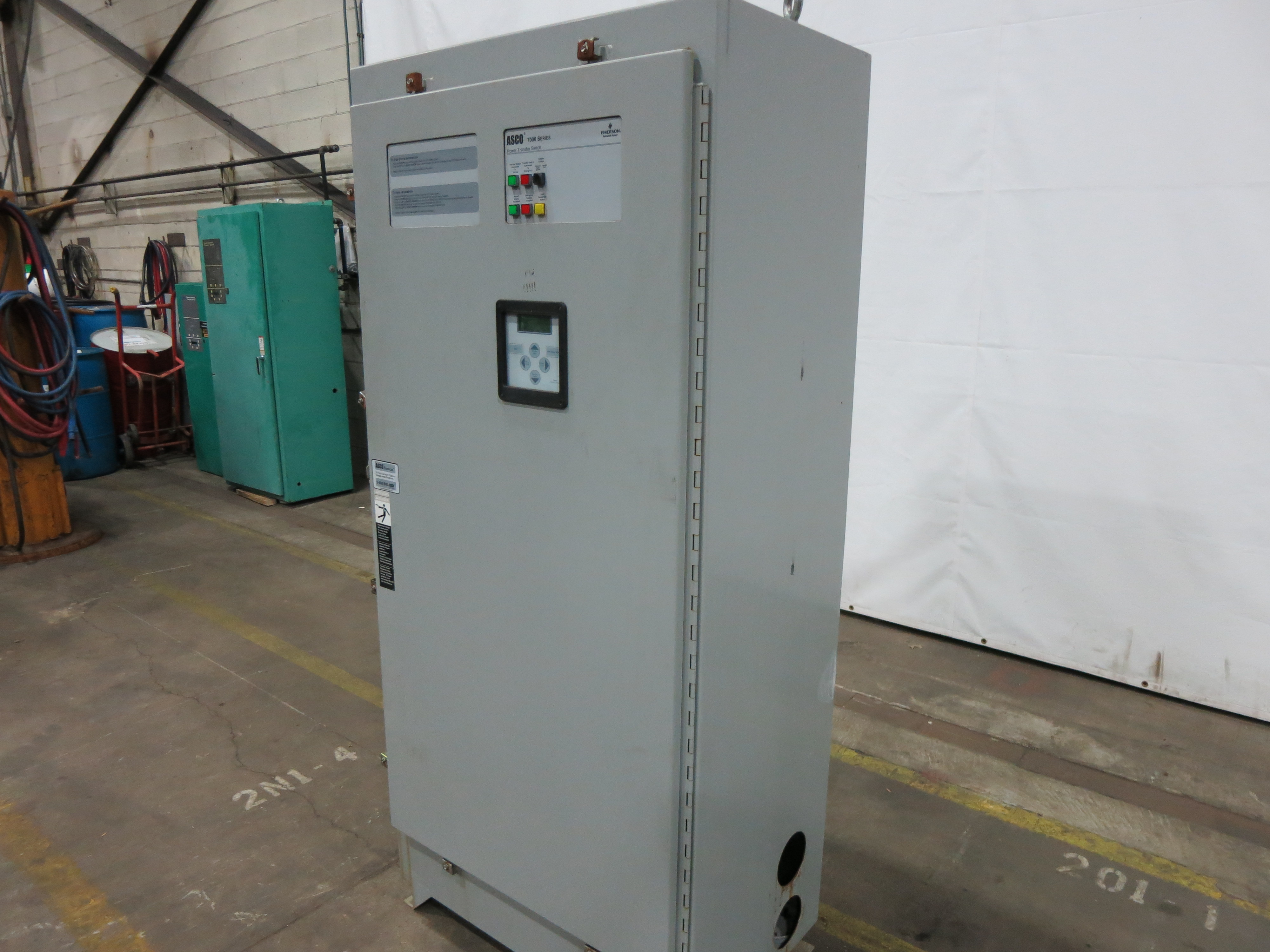 Used Asco 800 Amp Automatic Transfer Switch Series 7000 Wiring Diagram