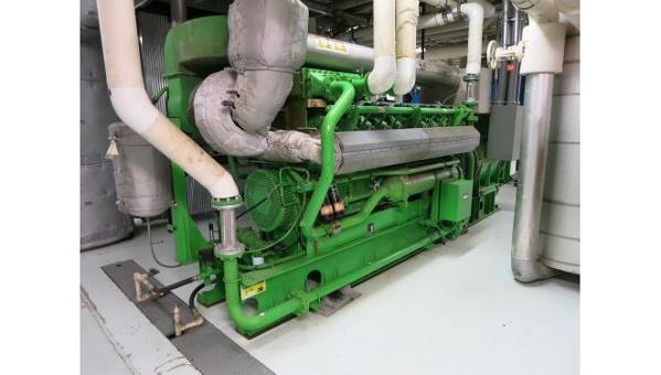 Used Jenbacher J320GS C81 Natural Gas Generator   1095 KW   0 Price