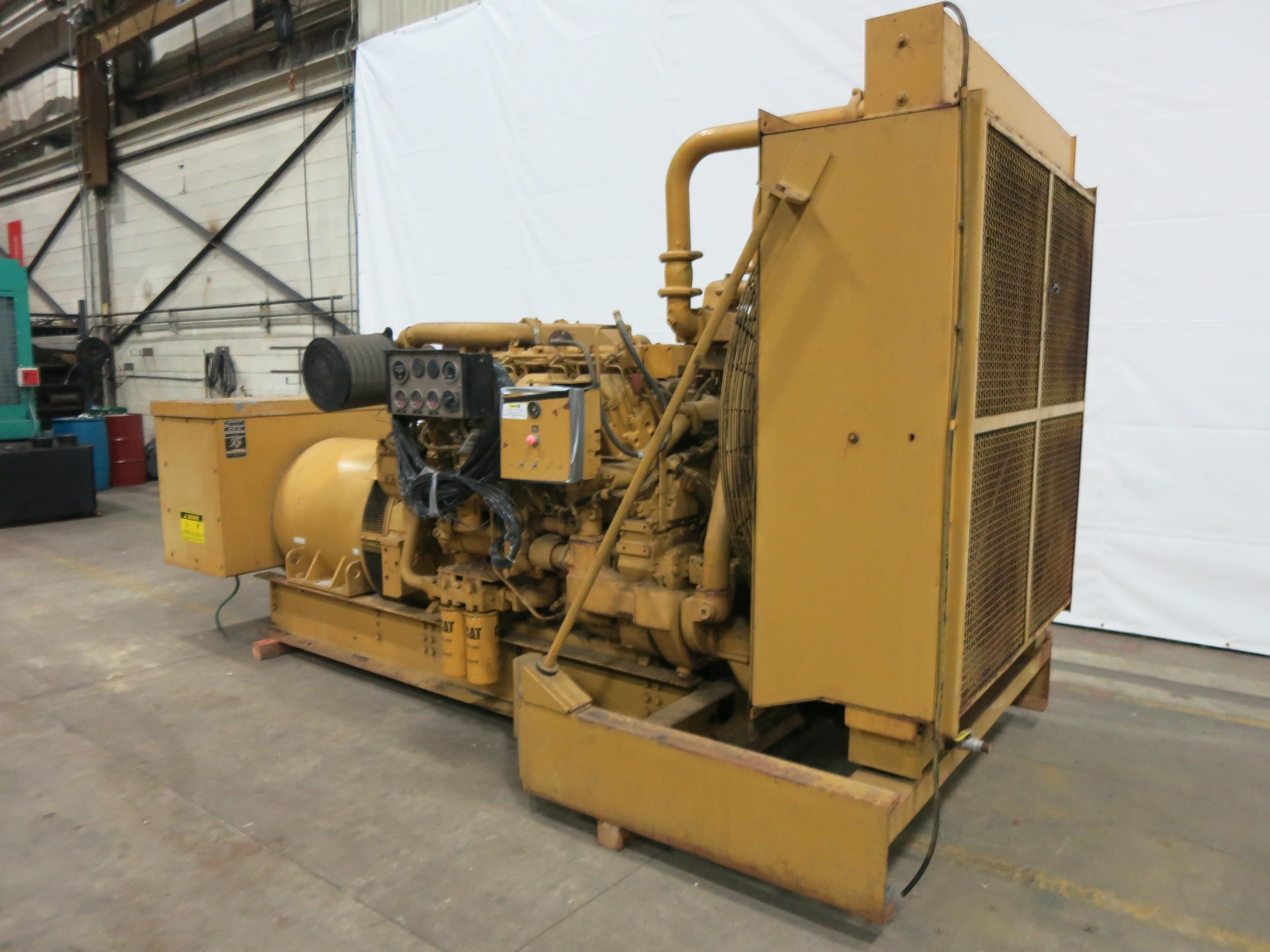Used Caterpillar 3508 Diesel Generator 970 Hrs