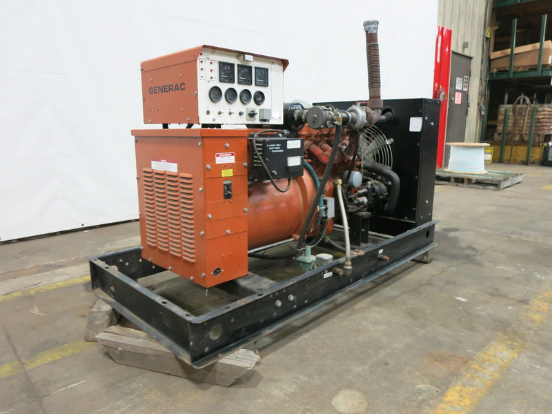 Used Generac Sg030 Natural Gas Generator 30 Kw 0 Price