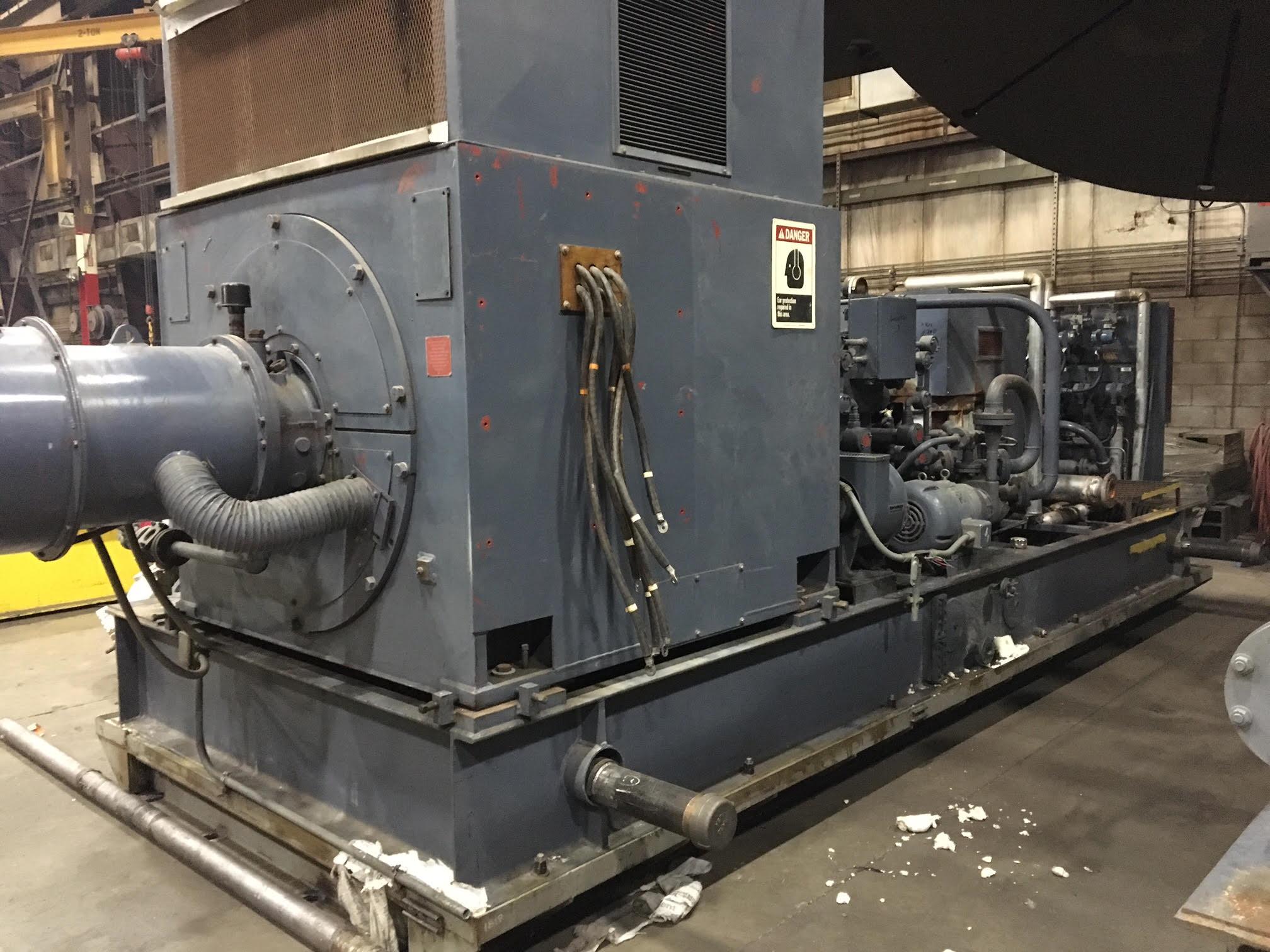 Used Murray 1500 kW RJG2 Steam turbine