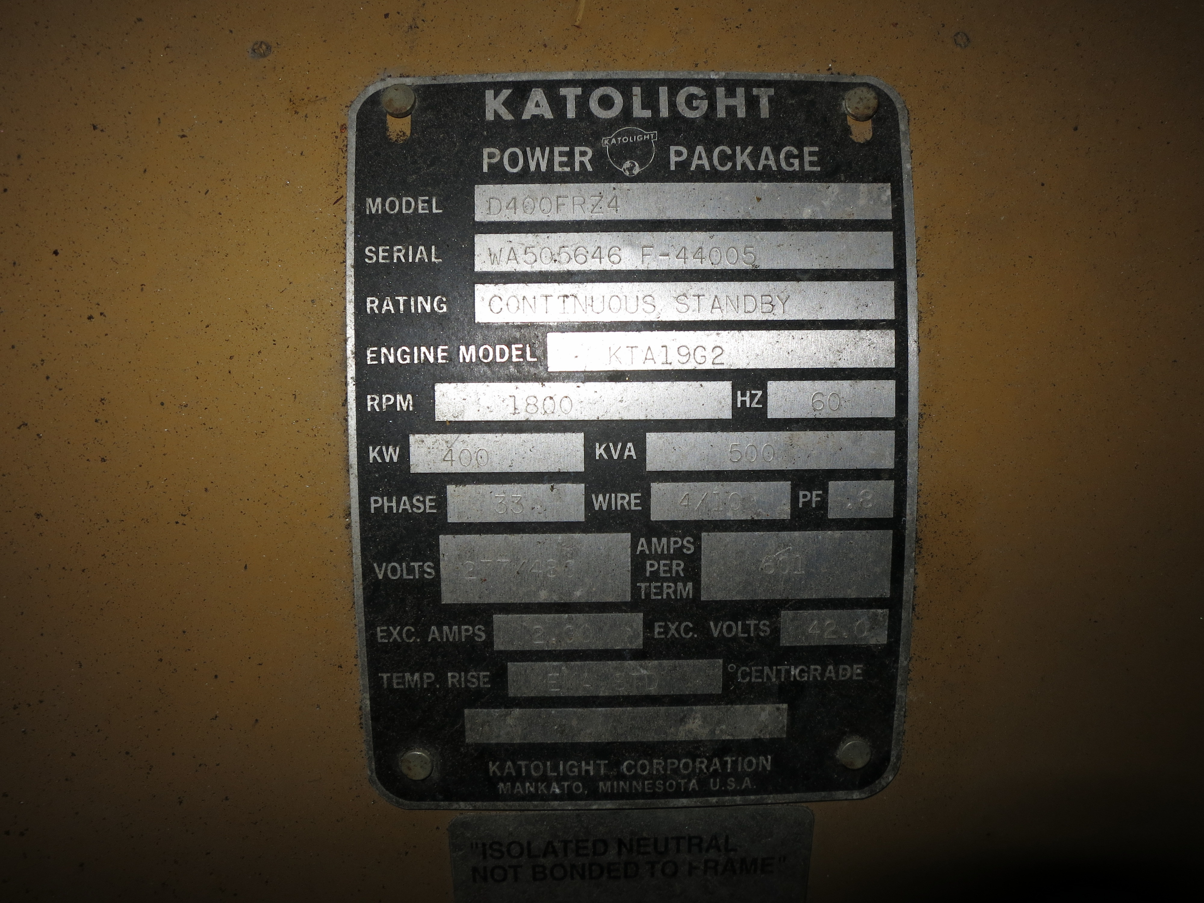 Katolight Generator Parts Manual 05 Sunfire A C Compressor Wiring Diagram Image Not Found Or Type Unknown