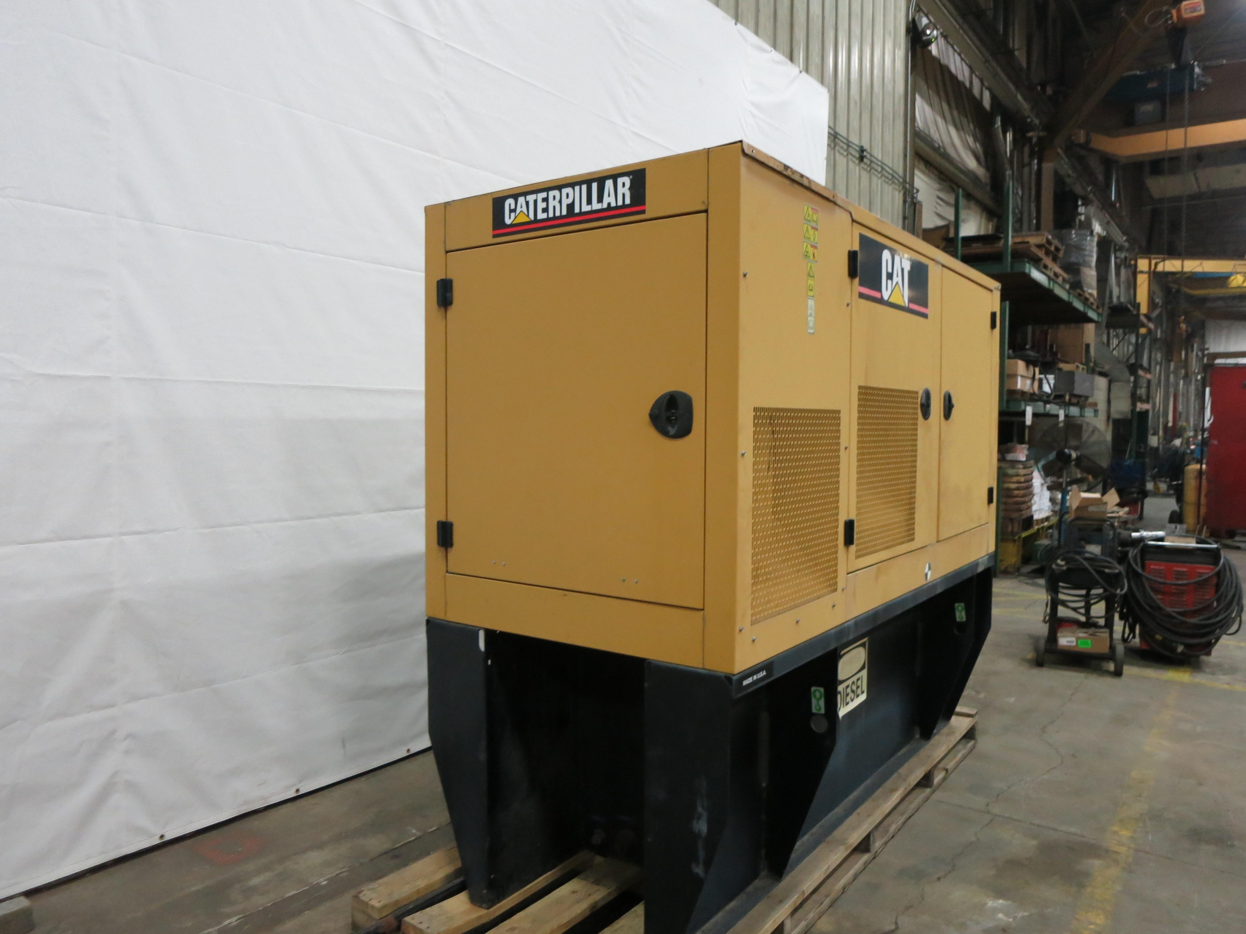 Used Caterpillar C4 4 Diesel Generator