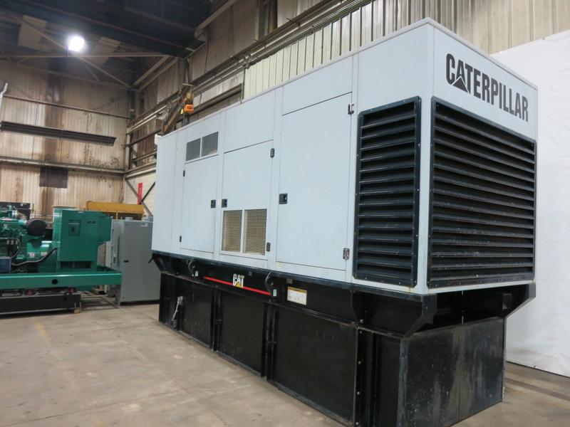 Used Caterpillar 3412 Diesel Generator, 796 Hrs