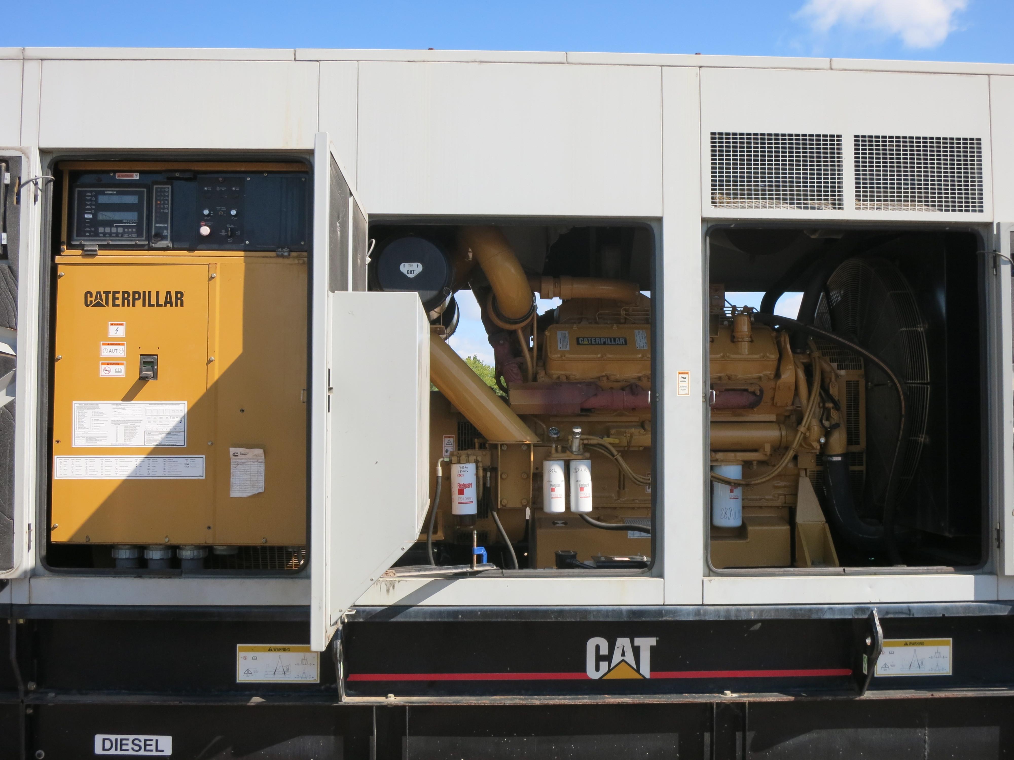 Used Caterpillar 3412 Diesel Generator 796 Hrs