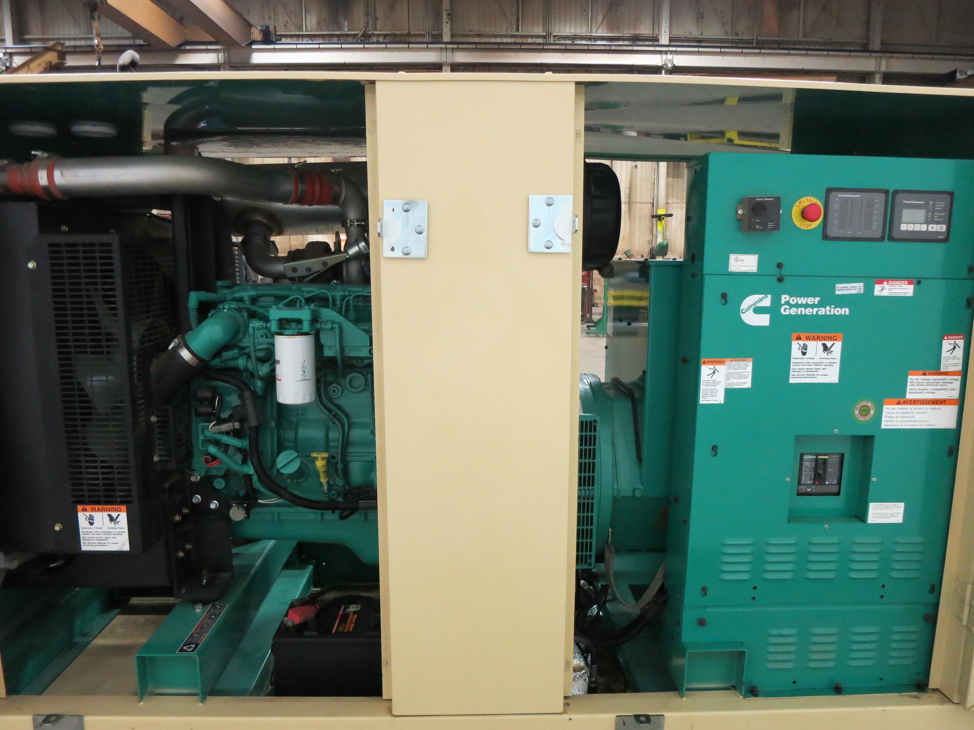 Used Cummins QSB7-G3-NR3 Diesel Generator | 131 Hrs | 100 KW | 0 Price |  CSDG