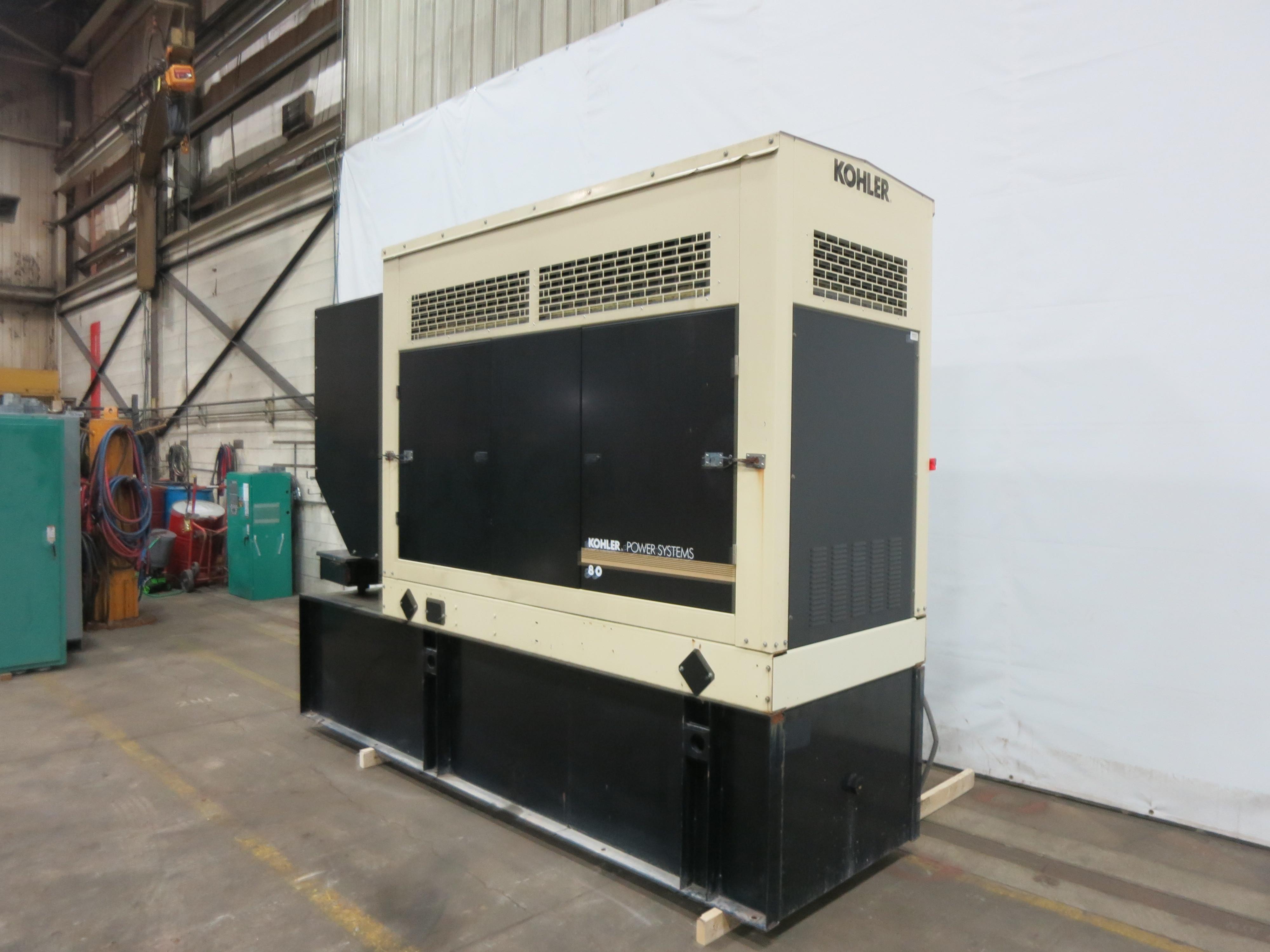 Used Kohler 4045HF285 Diesel Generator 401 Hrs