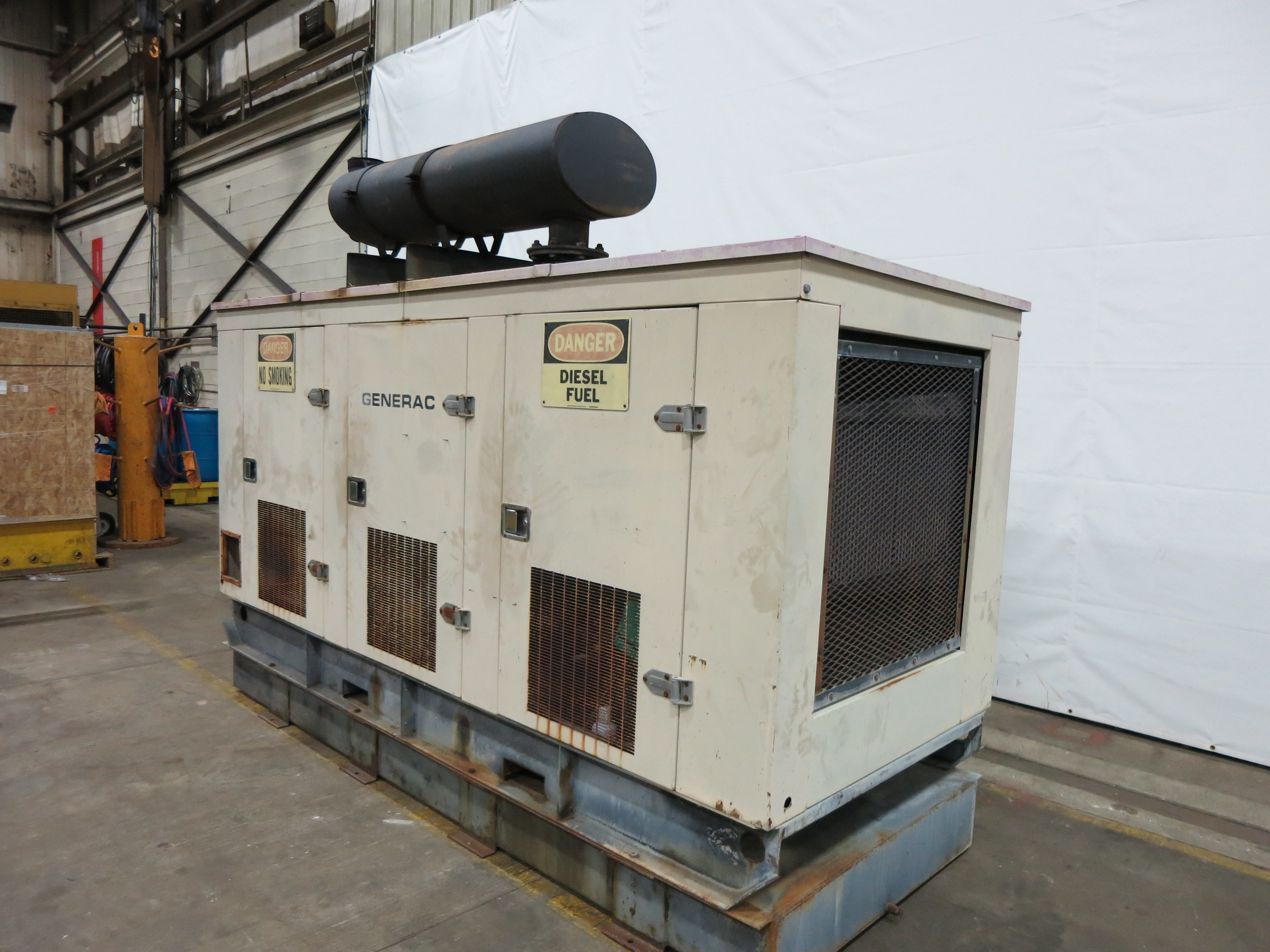 Used Generac SD250 Diesel Generator