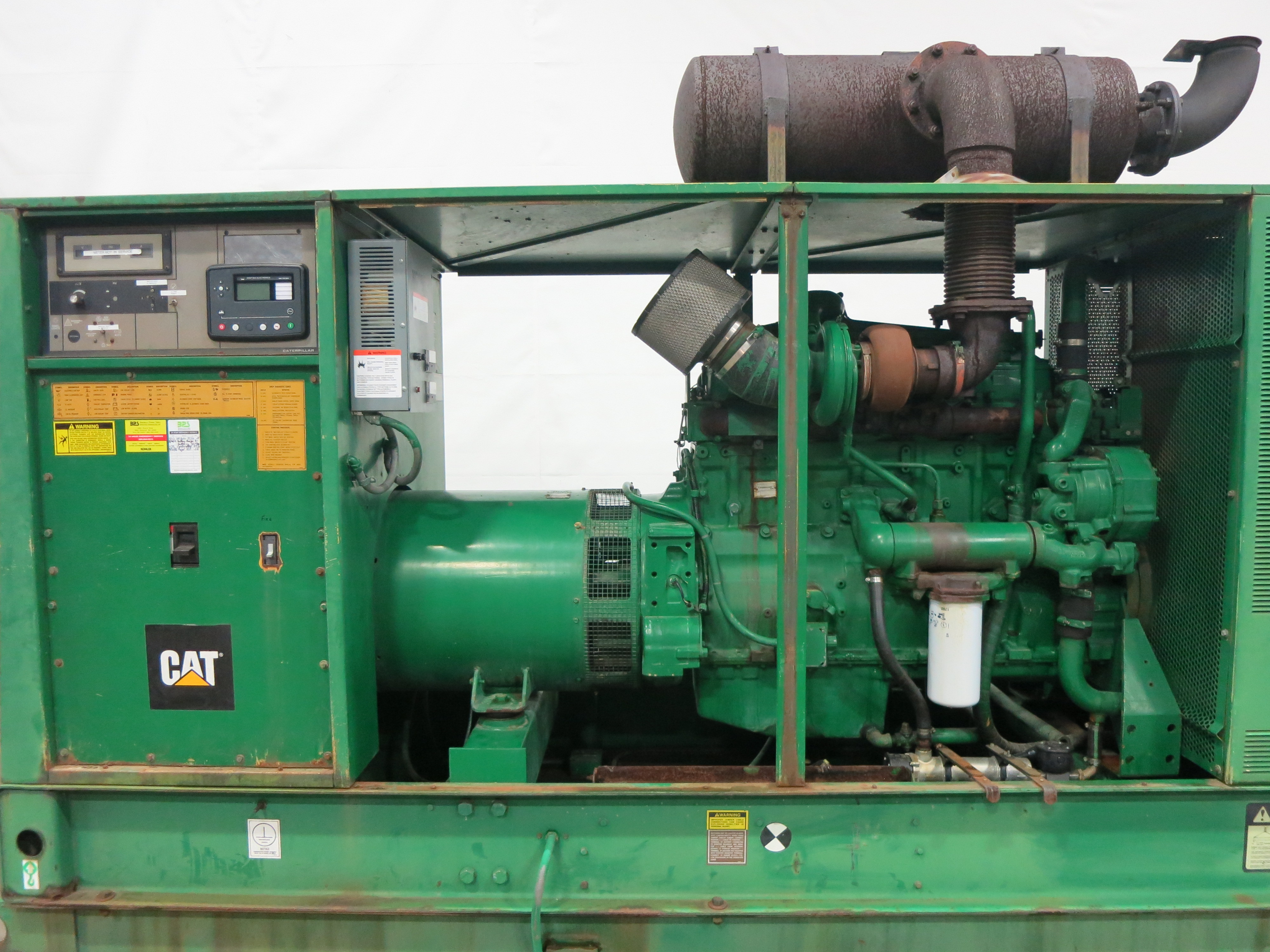 Used Caterpillar 3406B Diesel Generator, 1147 Hrs