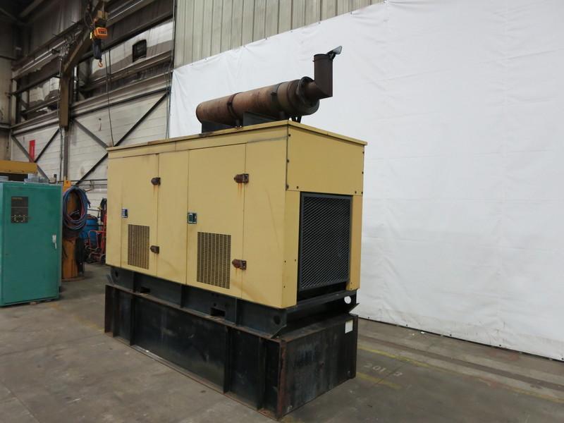 Used Caterpillar 3208 Diesel Generator, 667 Hrs