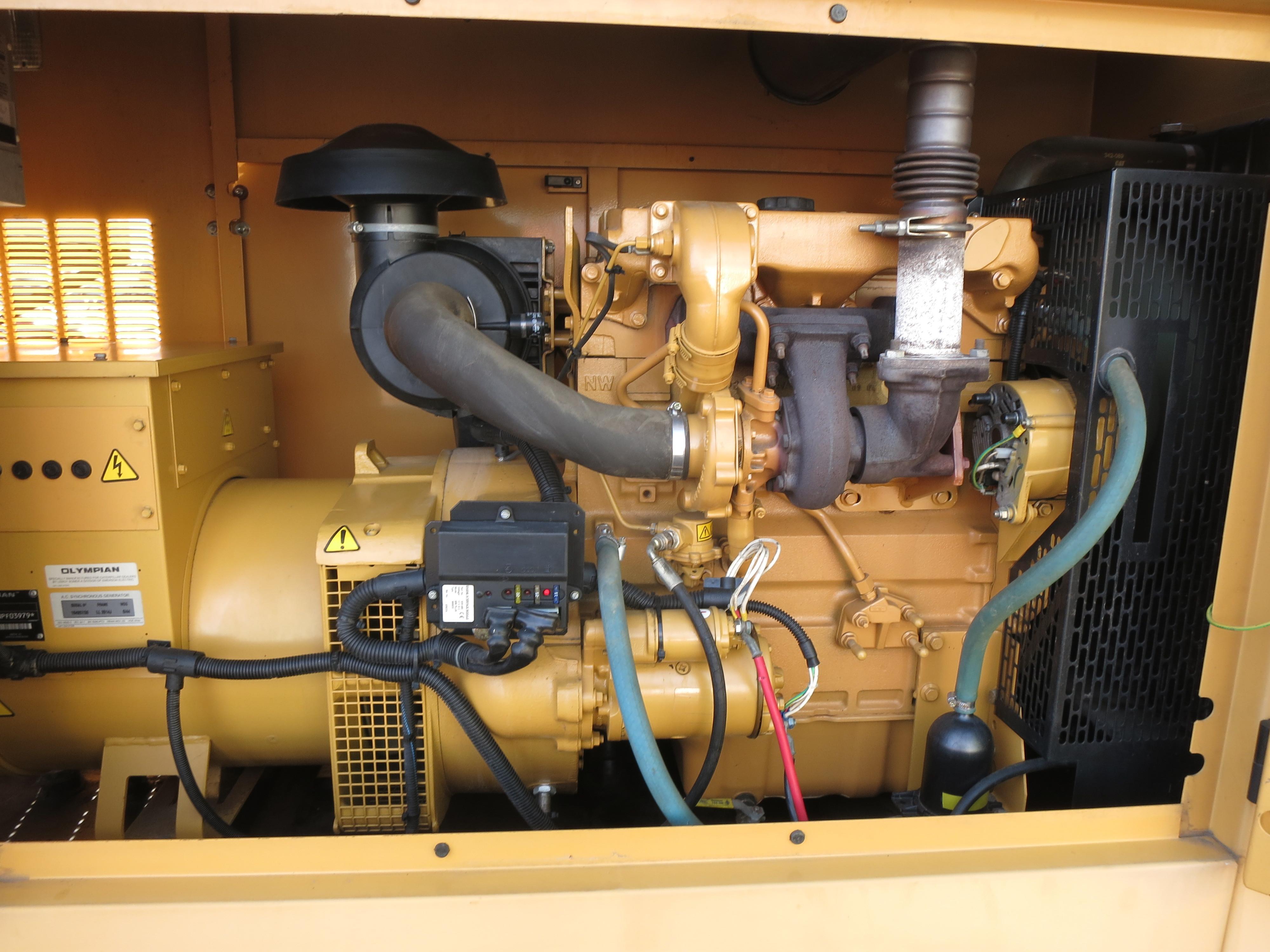 Used Caterpillar D75 P3 Diesel Generator 62 Hrs