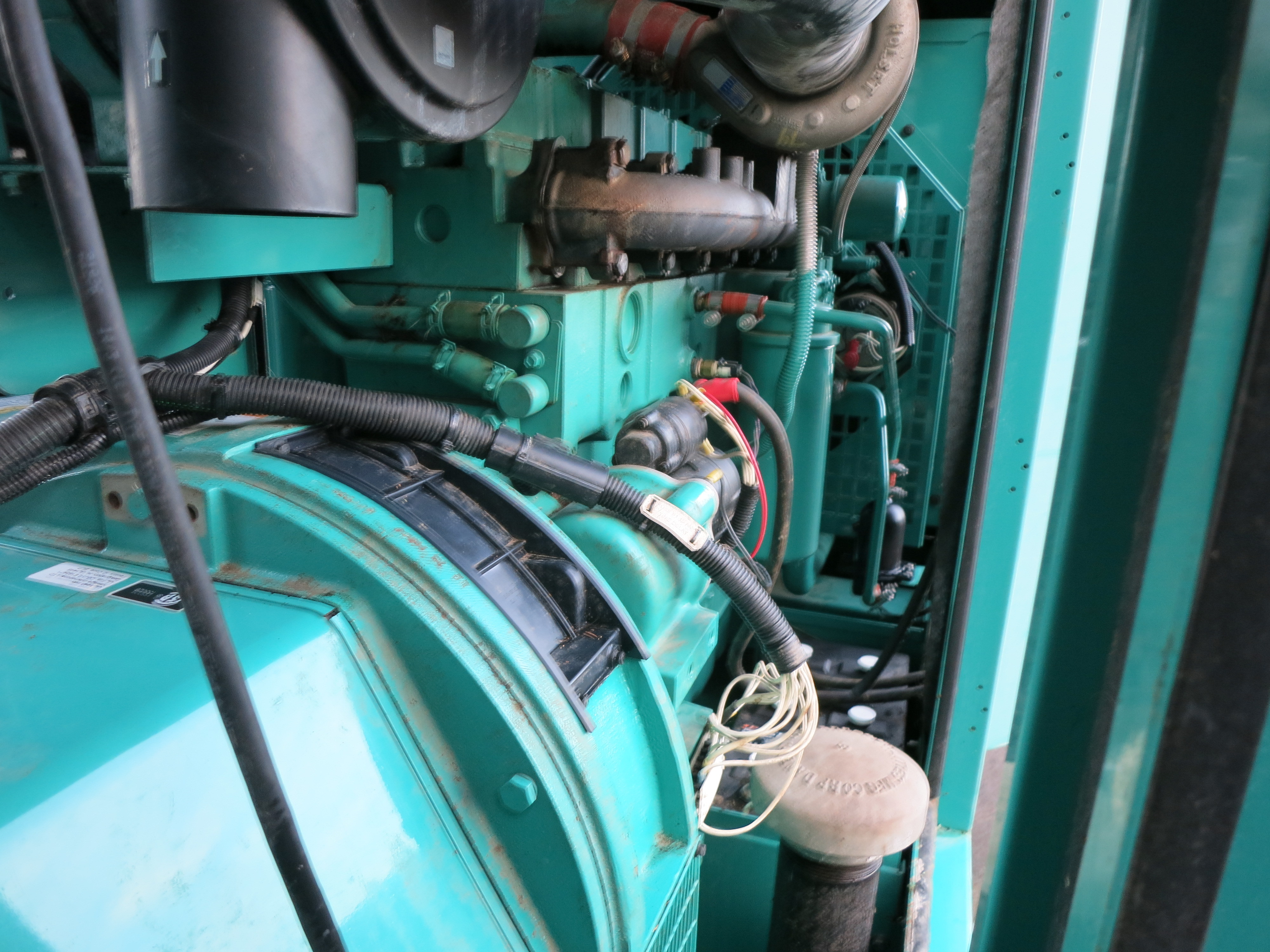 Used Cummins 6CTA8 3 G2 Diesel Generator Rated 150 kW 1 & 3 phase