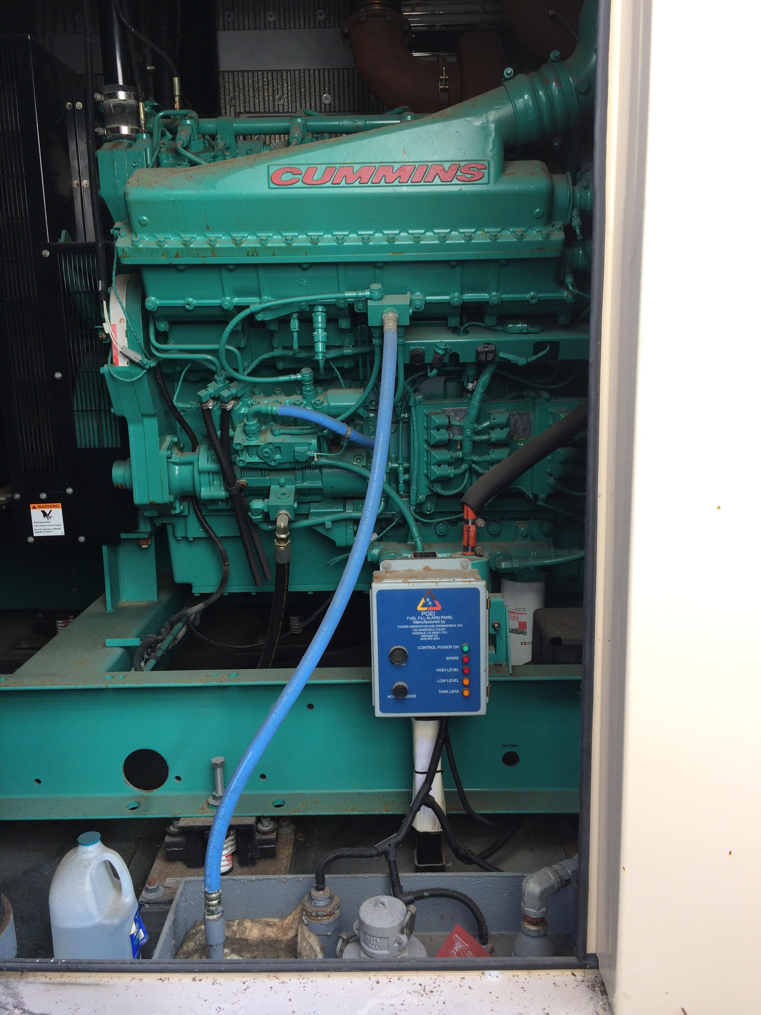 Used Cummins QSKTA50 GE Diesel Generator 72 Hrs EPA Tier 2