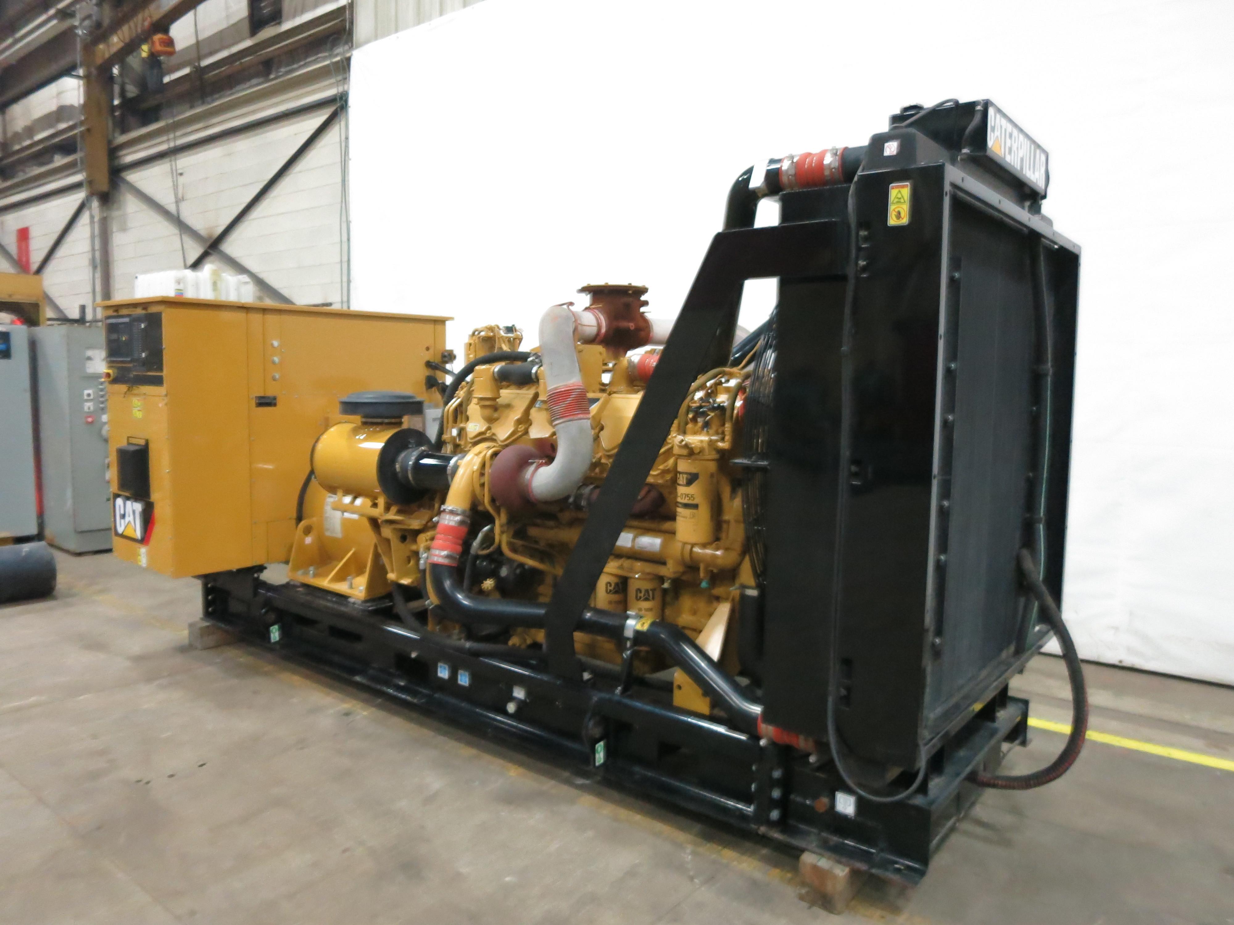 Used Caterpillar C27 Diesel Generator 361 Hrs