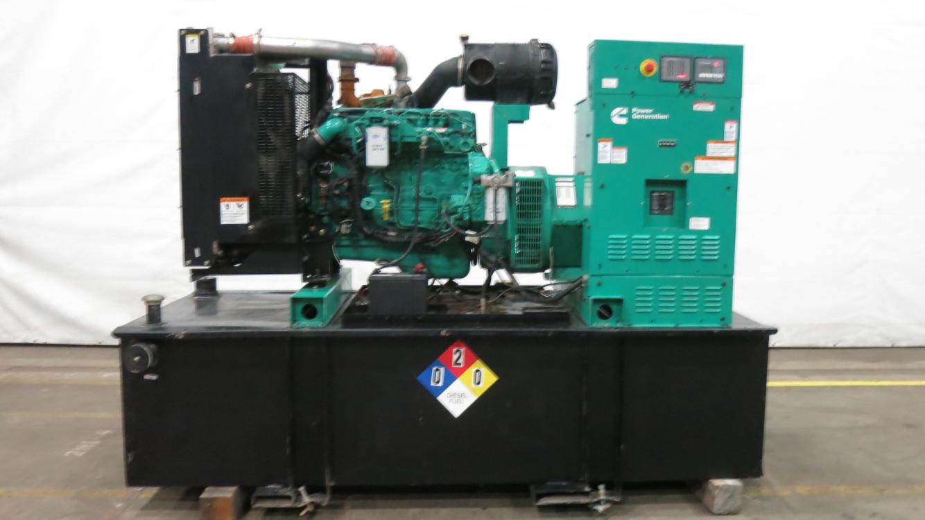 Used Cummins QSB7-G3 NR3 Diesel Generator | 533 Hrs | 125 KW | 0 Price |  CSDG