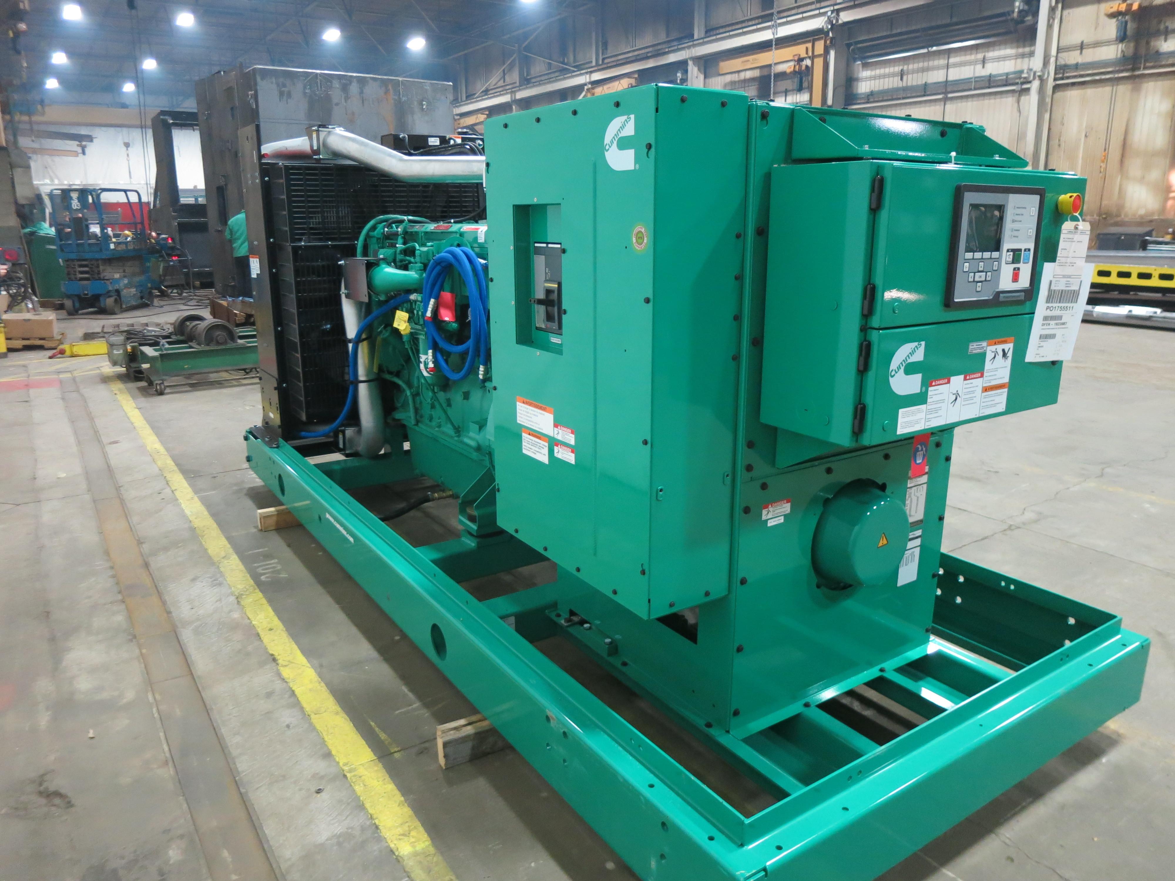 New Cummins Dfek Qsx15 G9 Nr2 Diesel Generator Epa Tier 2 500 Kw Wiring Diagram 0 Price Csdg