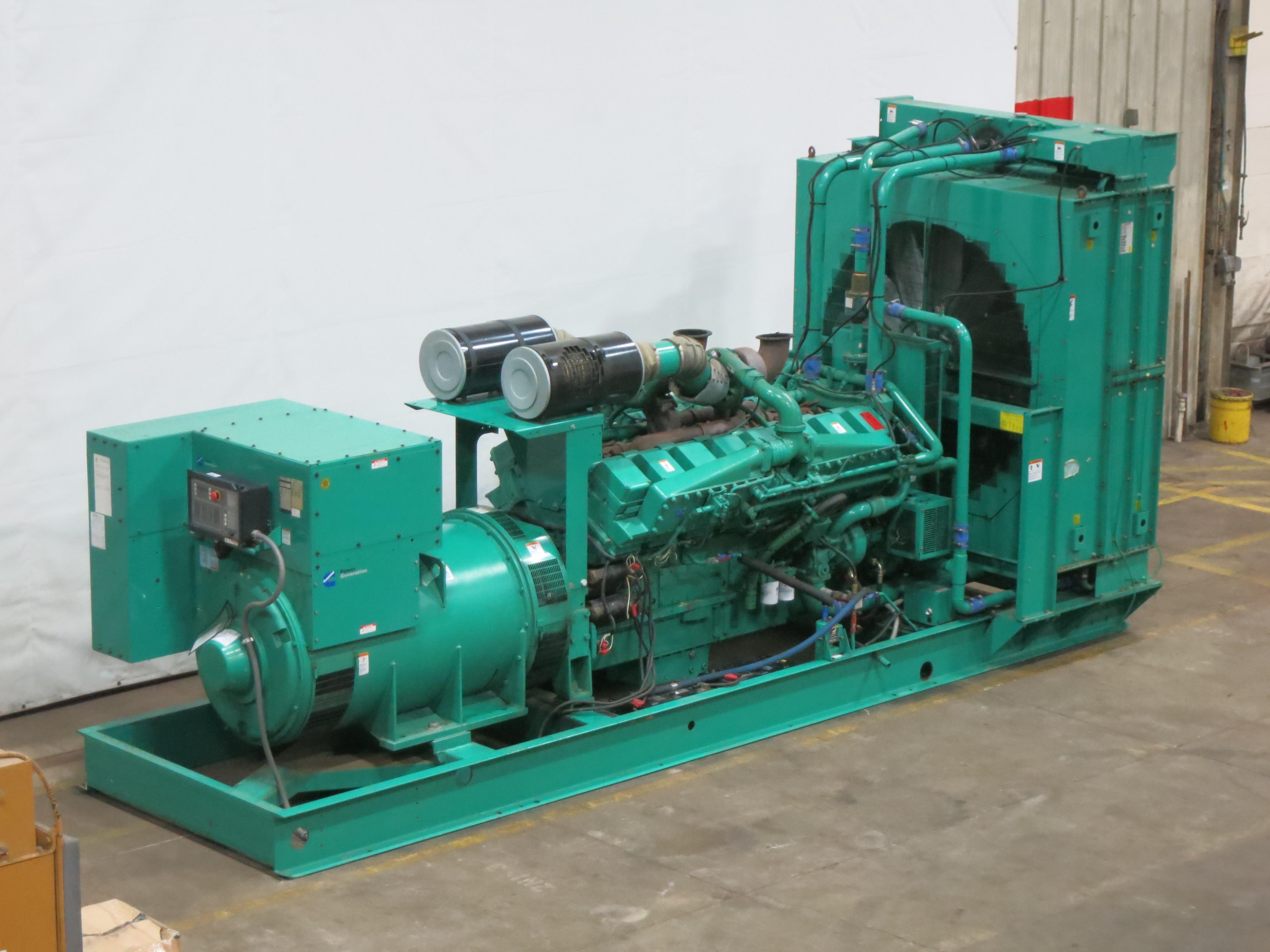 Used Cummins DFLE KTA50-G9 Diesel Generator   575 Hrs   1500 KW   0 Price    CSDG