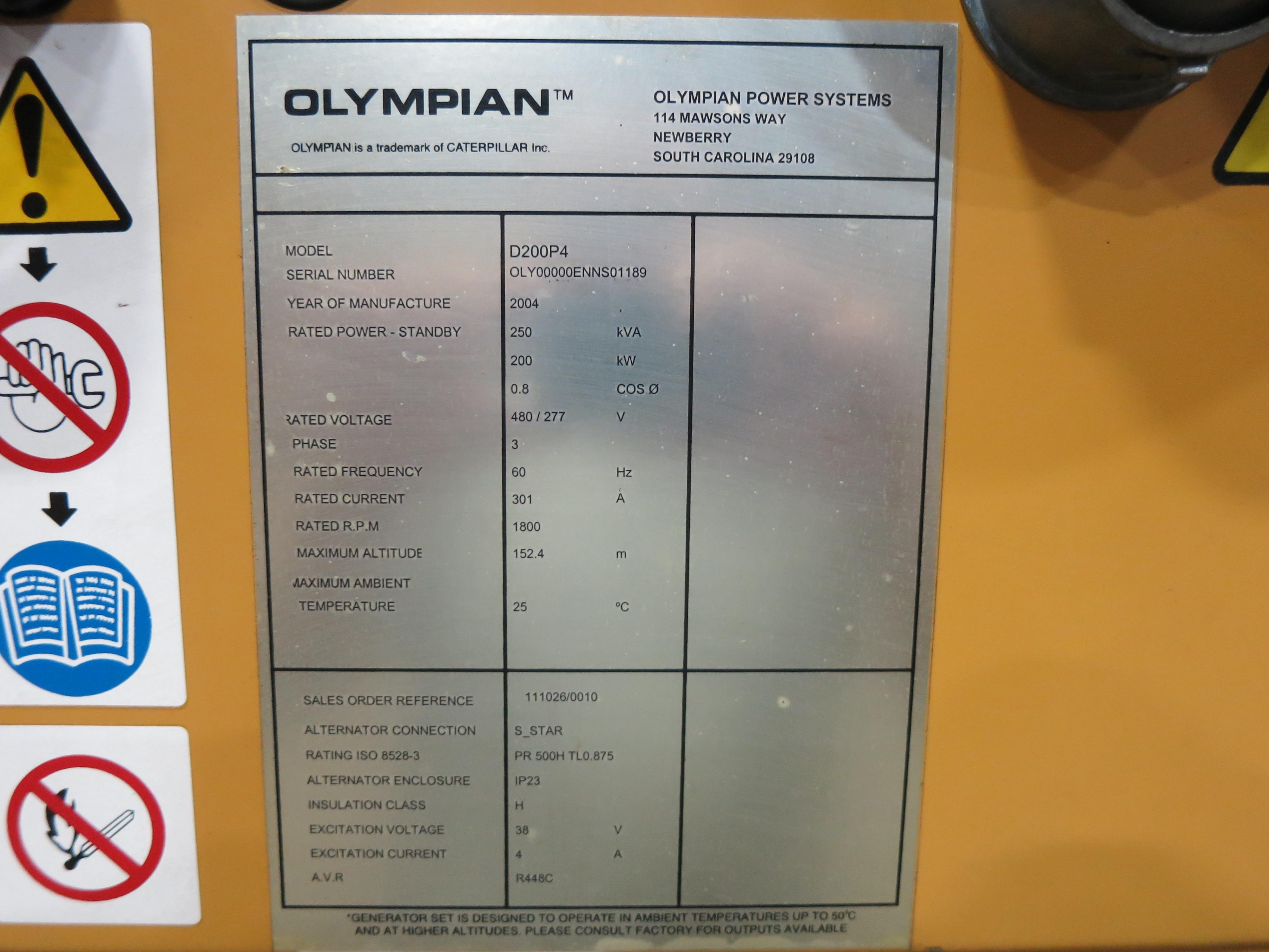 Olympain D Genset Wiring Diagram on