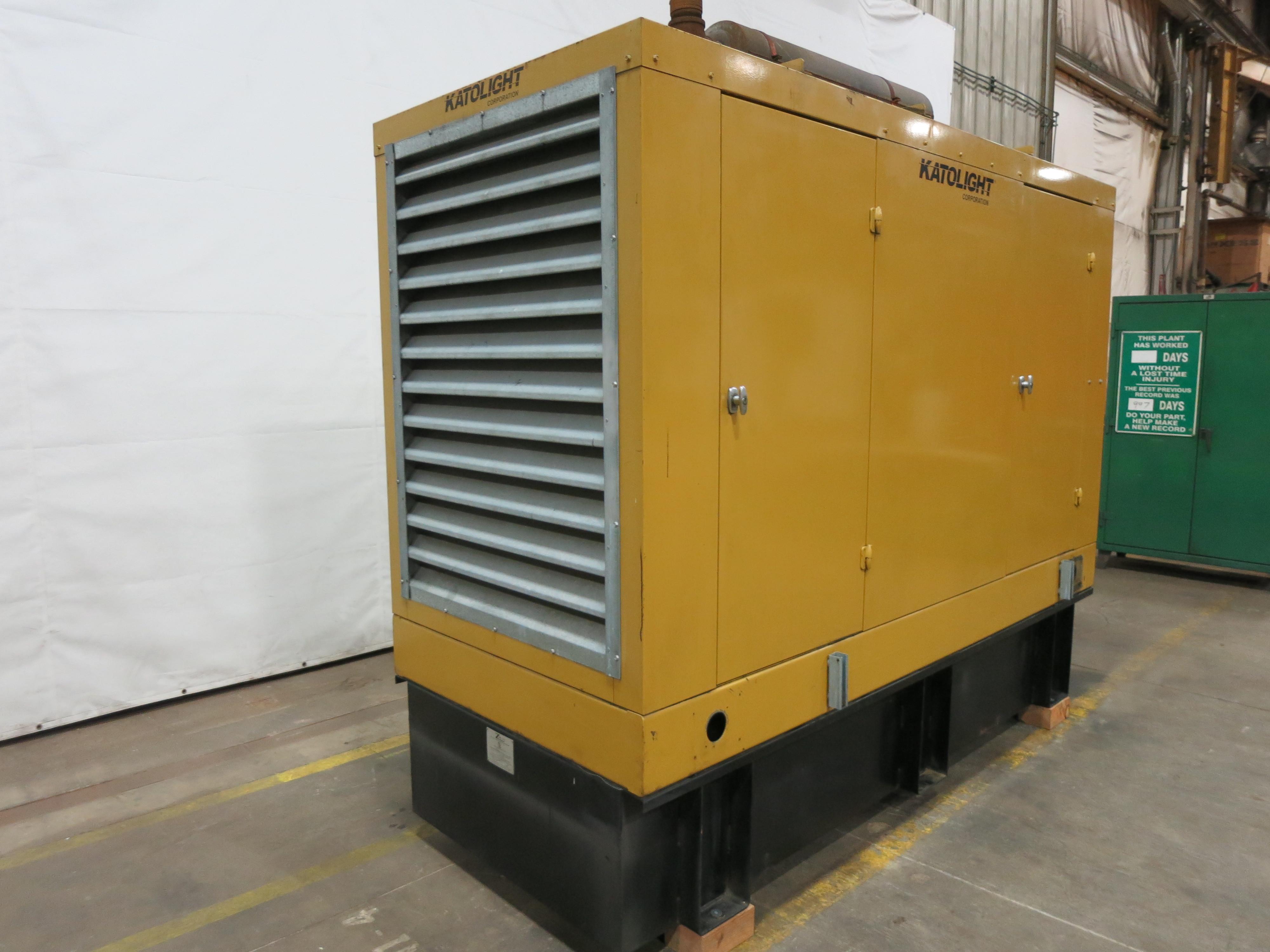 Used Katolight D125fjj4 Diesel Generator 313 Hrs 125 Kw 0 Wiring Diagram Price Csdg