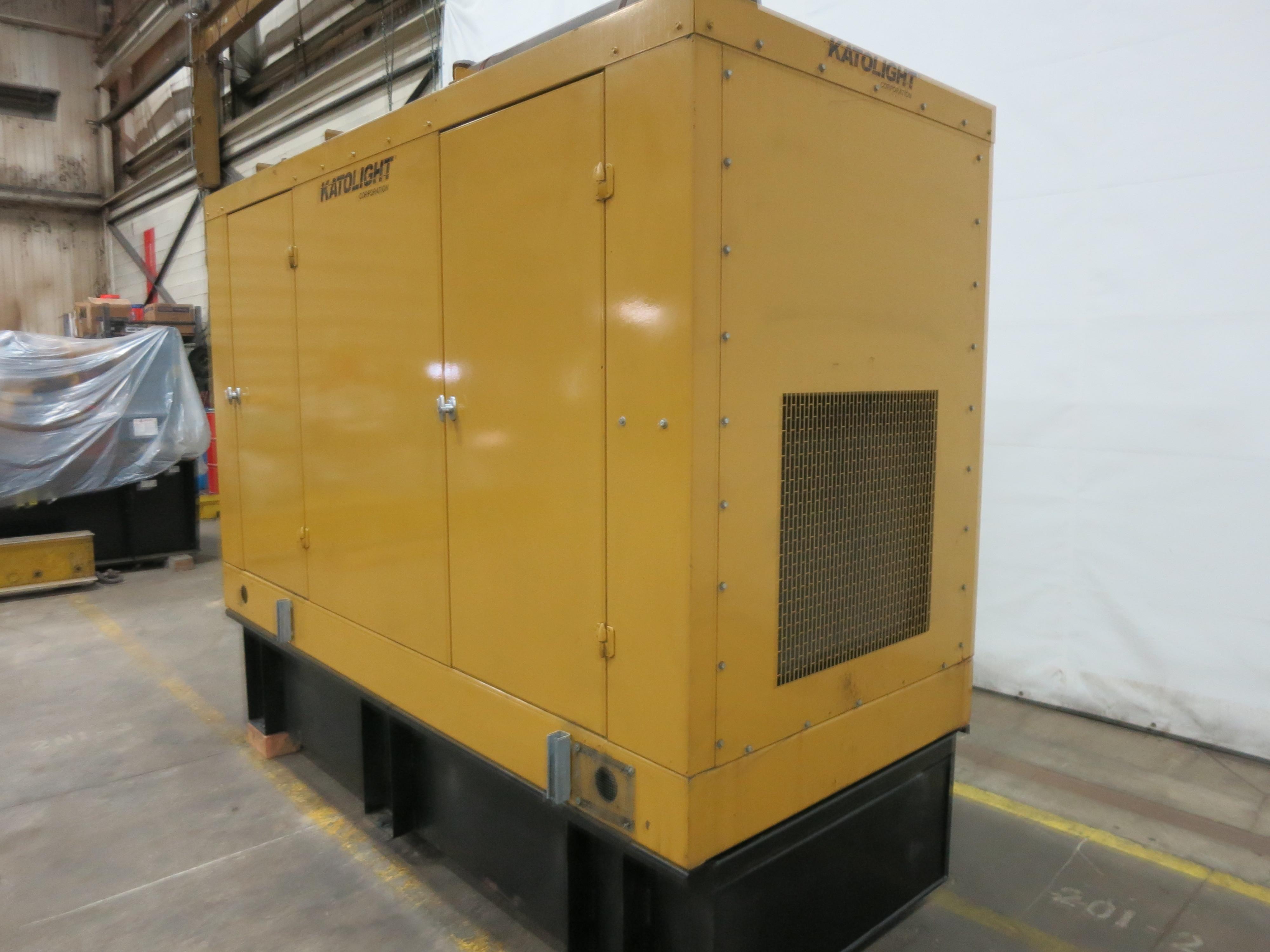 used katolight d125fjj4 diesel generator | 313 hrs | 125 kw | 0 price | csdg