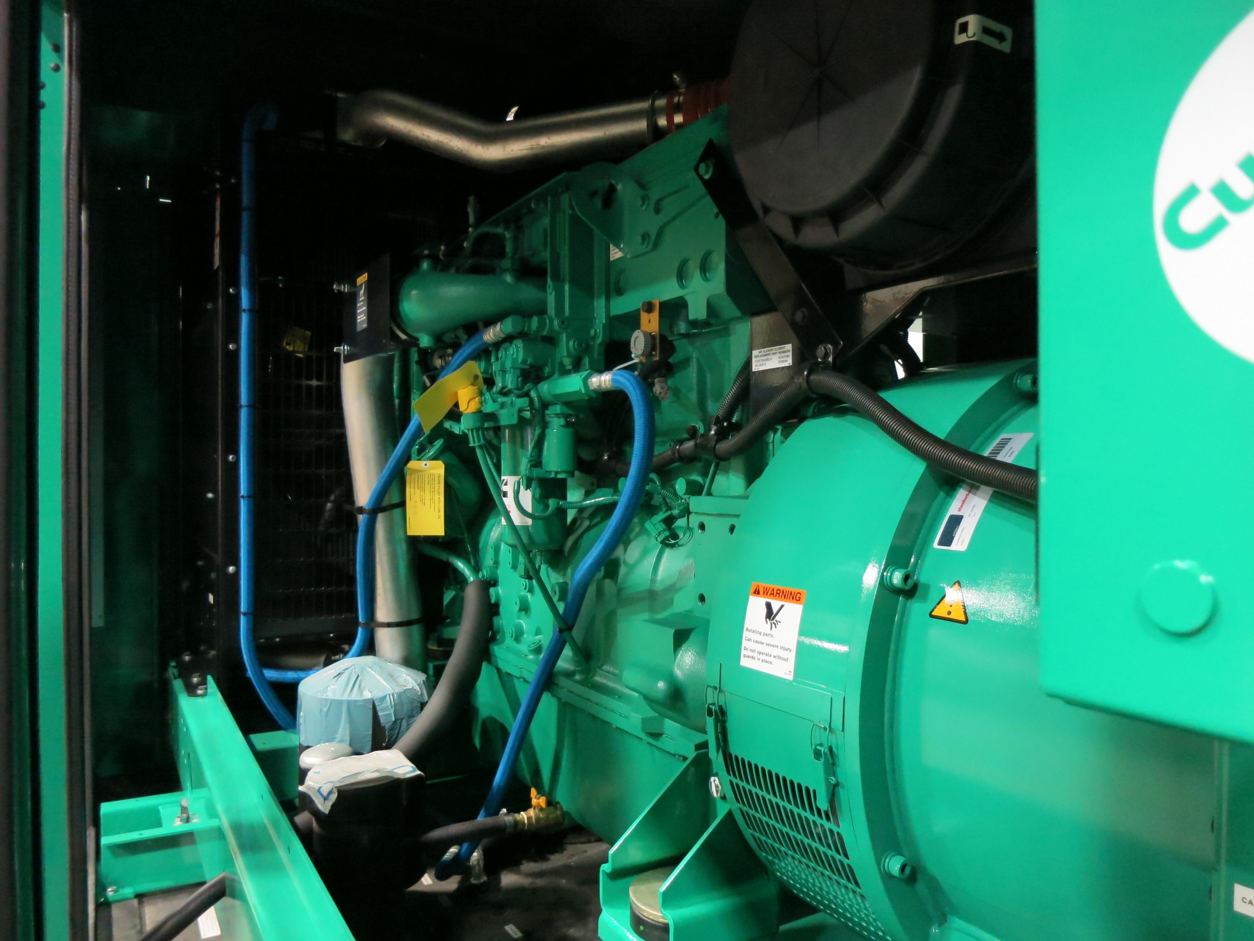 New Cummins DFEK QSX15-G9 NR2 Diesel Generator   EPA Tier 2   500 KW    99500 Price   CSDG