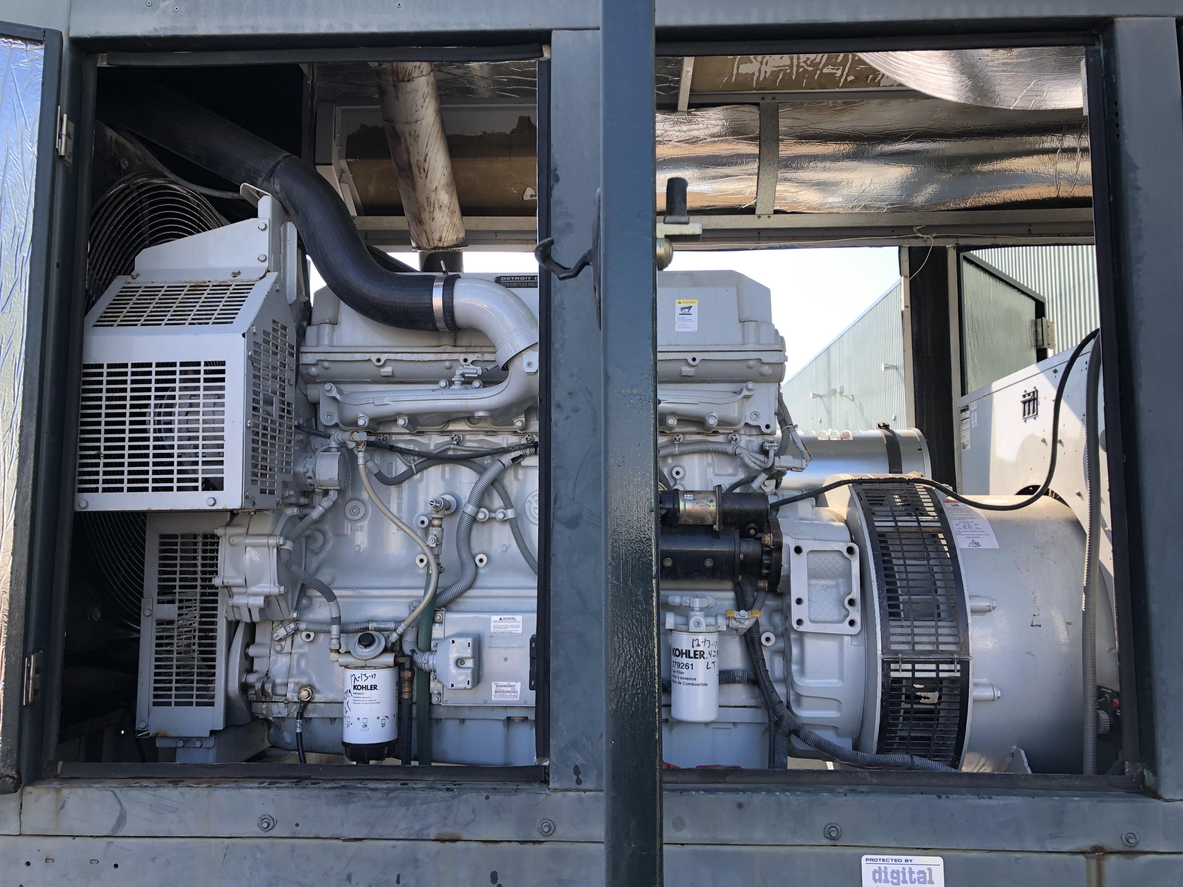Used Detroit Diesel 300DSED Diesel Generator 439 Hrs EPA Tier 3