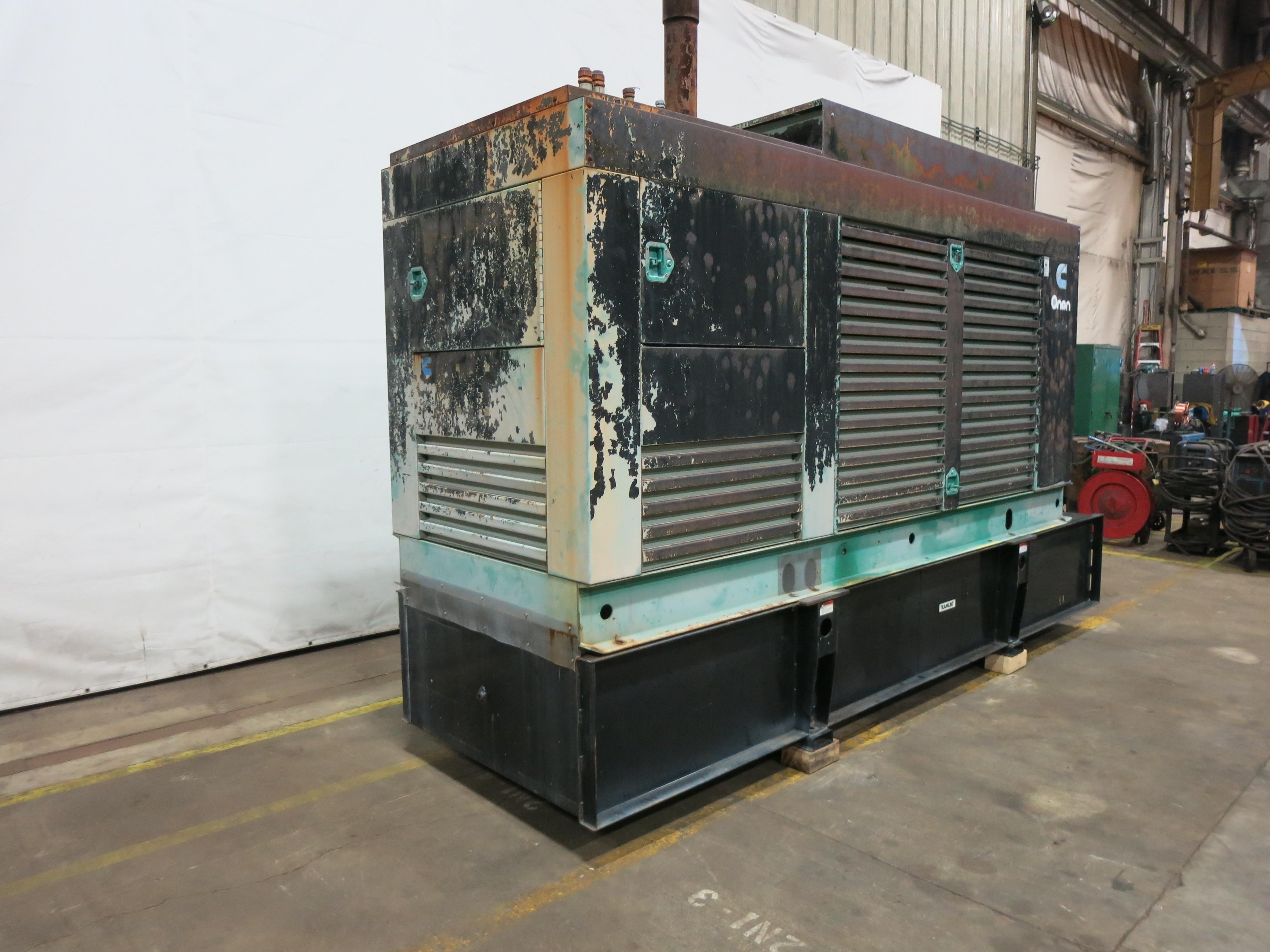Used Cummins DFCE NTA855-G5 Diesel Generator | 346 Hrs | 400