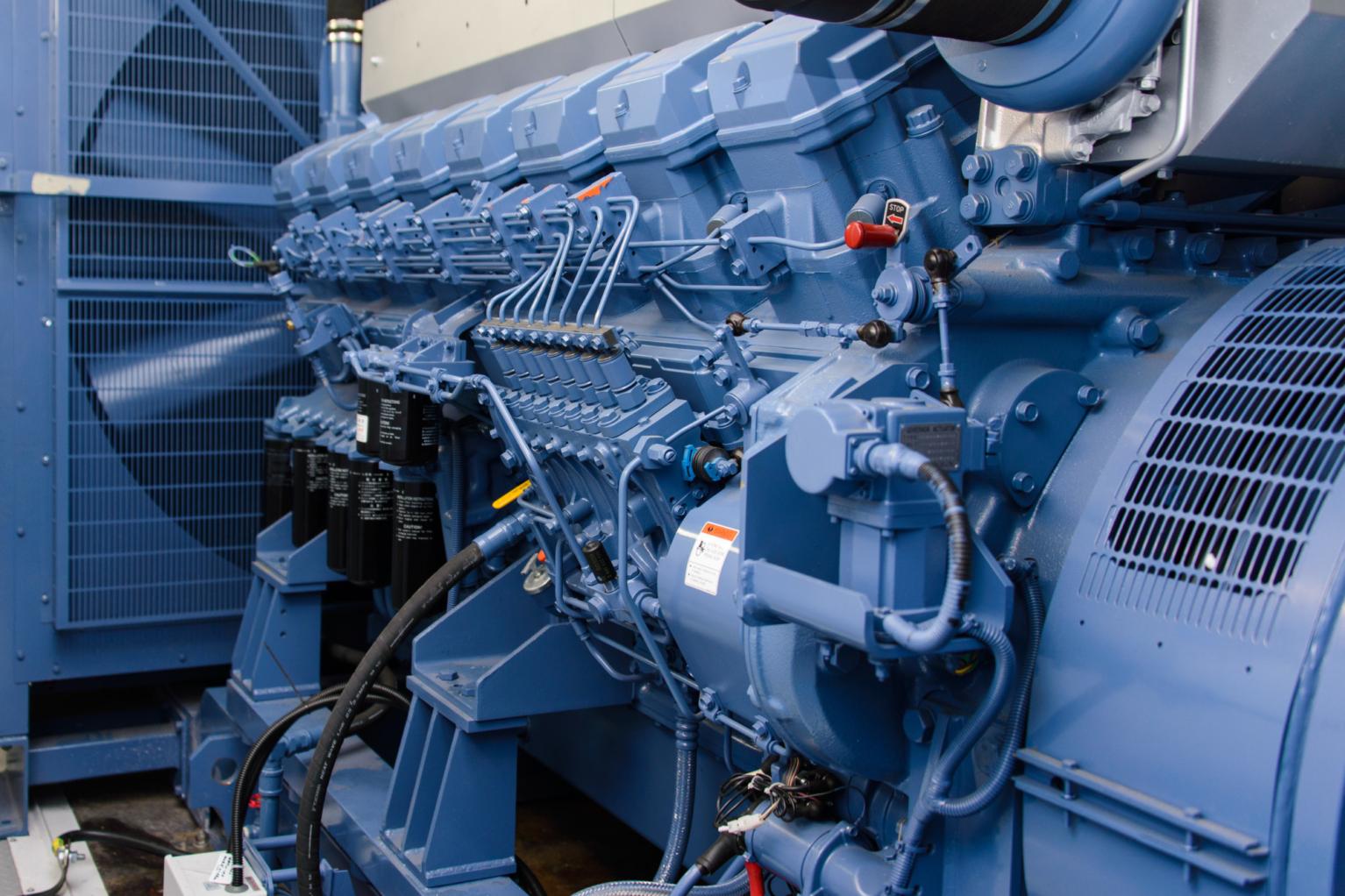 Diesel Standby Generator Engine